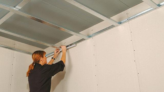 Geliefde Maximale Overspanning Metal Stud Plafond CA37